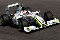 Tien jaar na dato: Barrichello met de Brawn GP in Goodwood