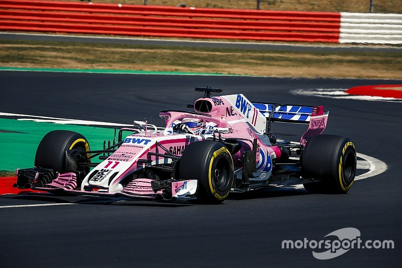 Force India ended 2018