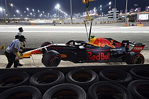 Формула 1 Новость Хорнер назвал причину аварии Ферстаппена в Бахрейне. Мотор не виноват
