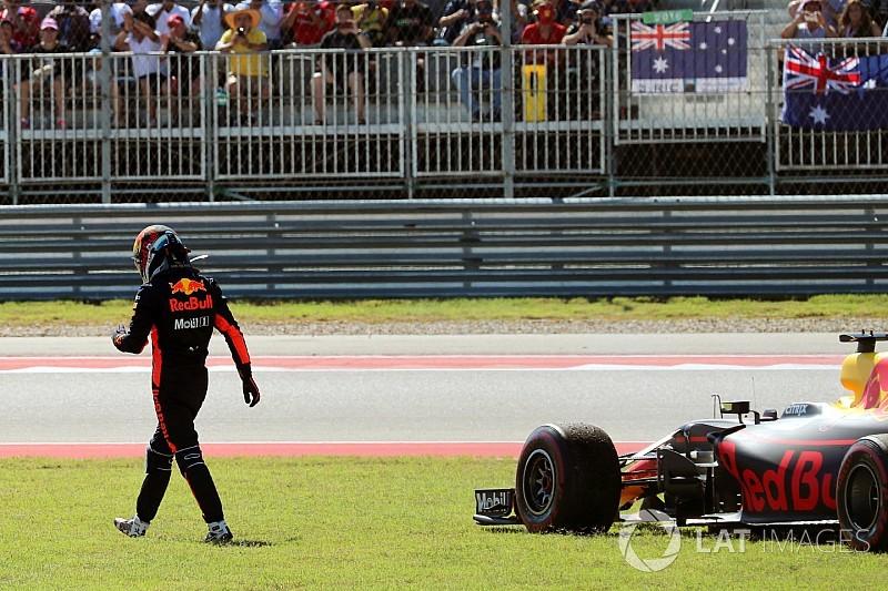 Ölverlust: Daniel Ricciardo verliert mögliches Formel-1-Podium in Austin