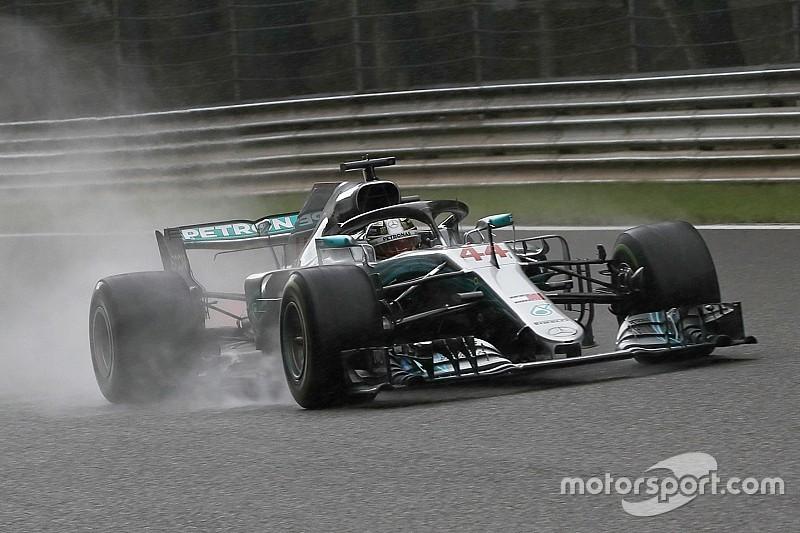 Hamilton dejó atrás una marca de Fangio y Senna en Spa
