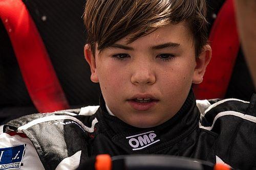 Filho de Emerson, Emmo Fittipaldi faz estreia nos carros em teste de F4 nos EUA