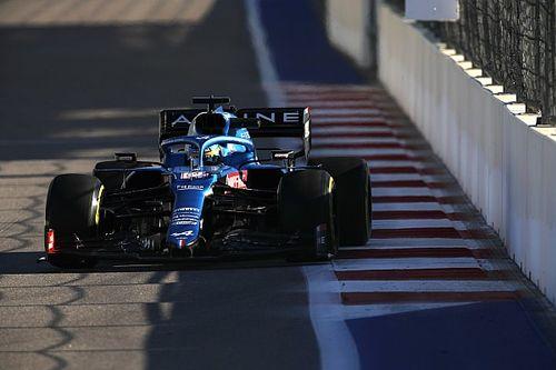 Alonso quiere más tras marcar el mejor tercer sector en Sochi