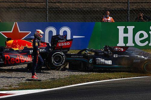 Hamilton surpris par l'attitude de Verstappen après l'accrochage