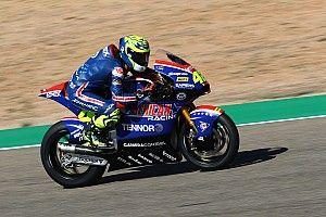 Marcos Ramírez acabó con el mejor tiempo el test de Moto2 en Jerez
