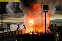 Grosjean miraculé après un terrible accident à Bahreïn