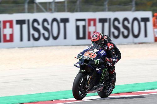 """MotoGPポルトガル予選:クアルタラロが今季初PP獲得。バニャイヤ""""驚速""""ラップは黄旗抹消……幻のPPに"""
