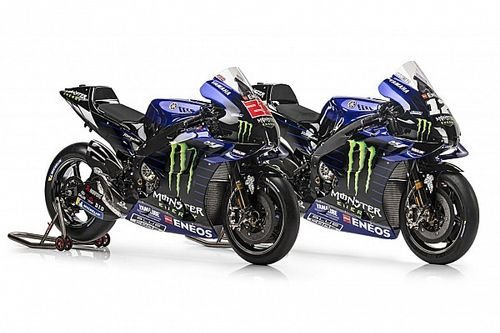 Les couleurs de la Yamaha de Quartararo et Viñales dévoilées