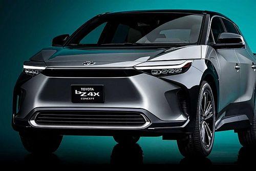 A bZ4X tanulmány mutatja meg először a Toyota 2022-ben érkező elektromos SUV-jét