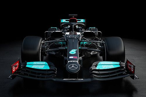Watch Mercedes unveil its 2021 F1 car live