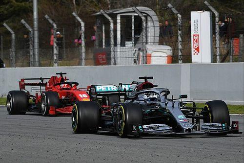 Después de dos semanas de test, así sería la parrilla F1 2020