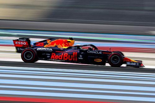 F1-Training Frankreich 2021: 0,008 Sekunden Vorsprung für Verstappen