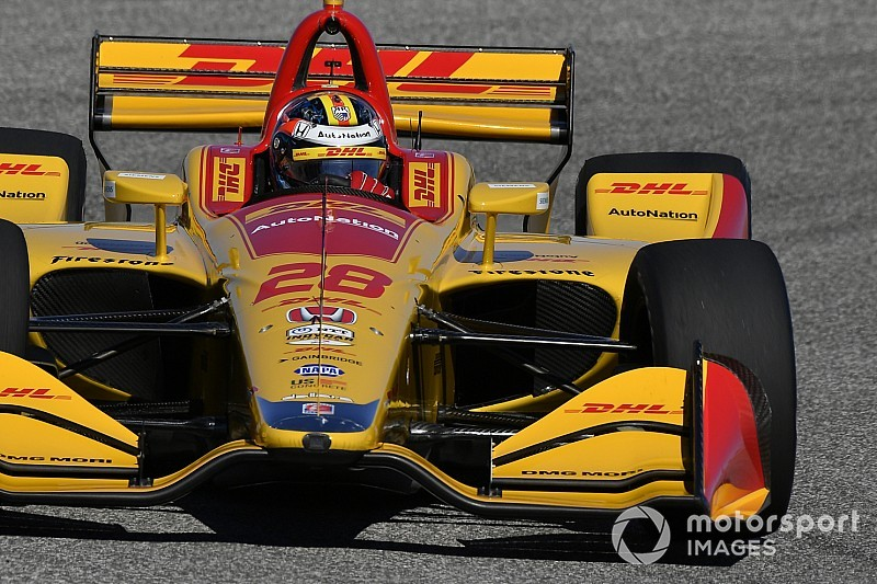 St. Petersburg IndyCar: Hunter-Reay fastest in second practice