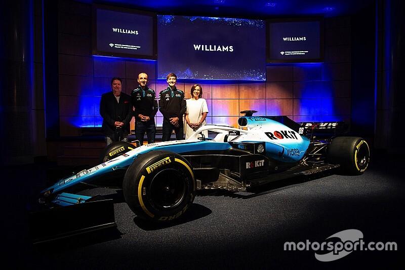 Neuer Sponsor, neue Farben: Williams präsentiert sein Formel-1-Design 2019