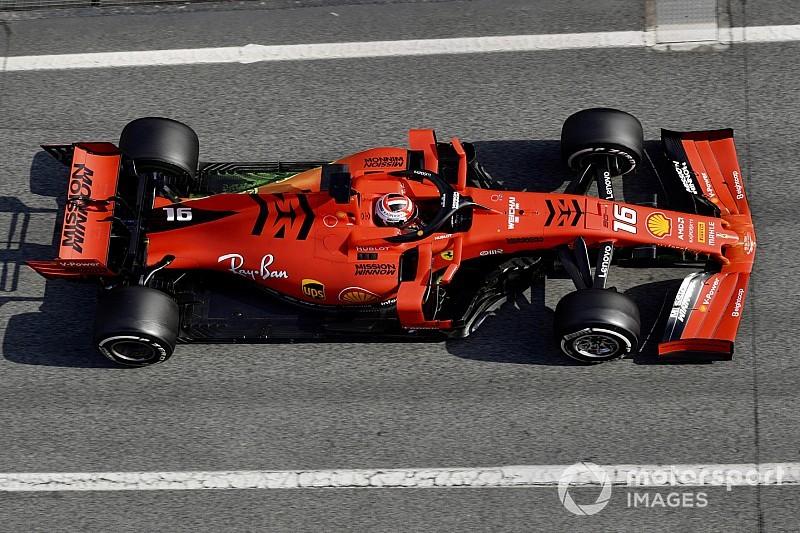 Ferrari verwijdert Mission Winnow logo's voor Australië