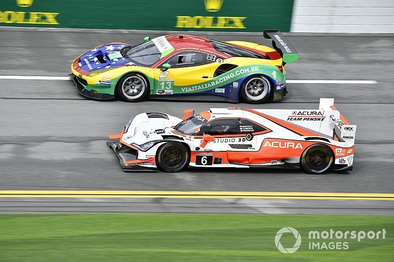 Taylor surprised Acura split Mazdas in Rolex 24 qualifying