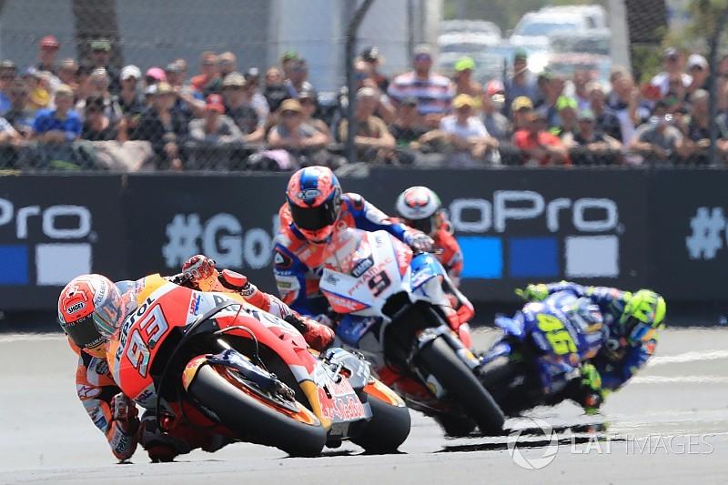 Márquez espera ser competitivo en Italia tras el test en Misano