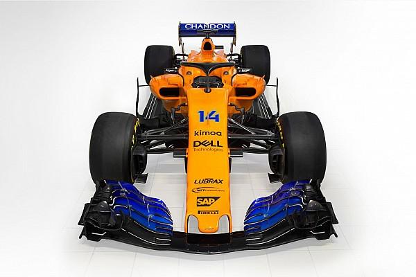 F1 突发新闻 迈凯伦MCL33橙色涂装亮相