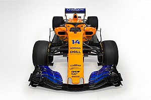 McLaren представила помаранчево-синій болід 2018 року