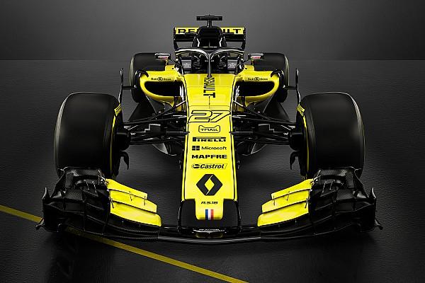 F1 突发新闻 雷诺2018年F1赛车RS18登场