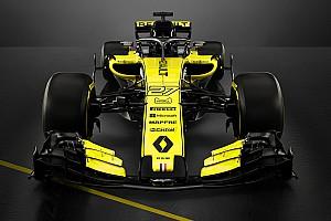 雷诺2018年F1赛车RS18登场