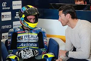 MotoGP Réactions Siméon commence à travailler son adaptation au MotoGP avec Xaus