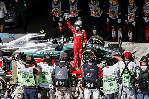 Formule 1 L'histoire derrière la photo - Vettel et Ferrari retrouvent le succès