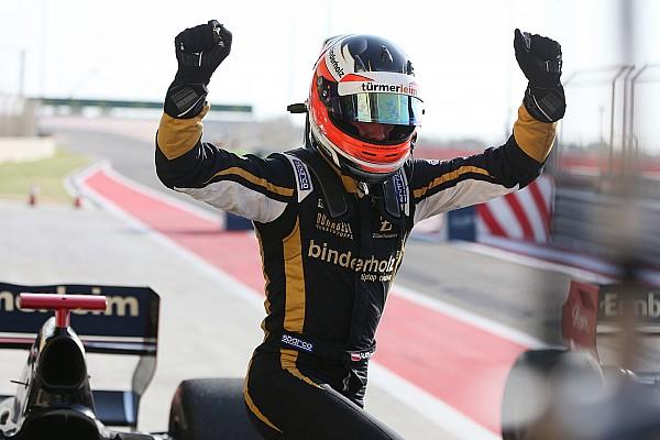 Formula V8 3.5 Gara Binder batte Fittipaldi nell'ultima gara della Formula V8 3.5 in Bahrain