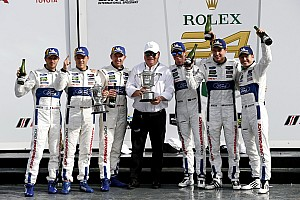 IMSA Breaking news Strategy decided which Ford scored Ganassi's 200th win
