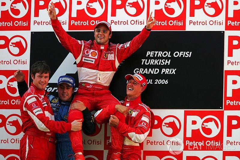 Massa elege top-5 de pilotos com quem competiu na F1
