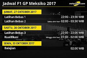 Formula 1 Preview Jadwal lengkap F1 GP Meksiko 2017