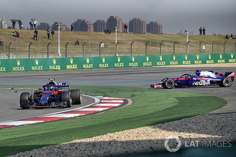 El choque entre los Toro Rosso fue a causa de una falta de comunicación