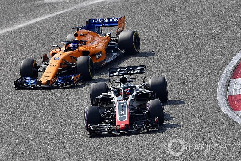 """McLaren, Renault have been """"lucky"""" so far - Haas"""