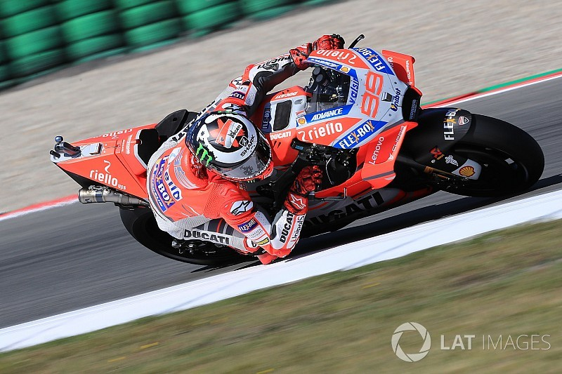 Lorenzo thought lap was deleted in Assen shootout