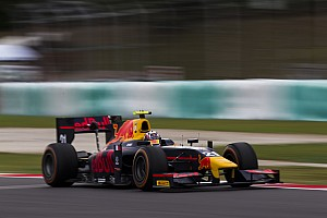 FIA F2 Qualifying report Sepang GP2: Gasly survives early spin, tops red-flagged qualifying