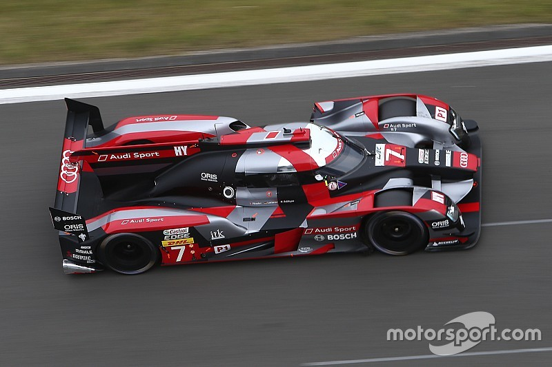 Nurburgring WEC: Audi locks out front row ahead of Porsche