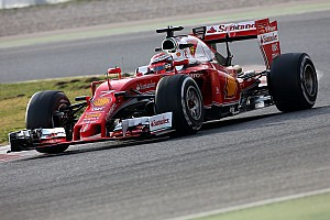 Formula 1 Testing report Raikkonen sets rapid morning pace for Ferrari on ultra-softs