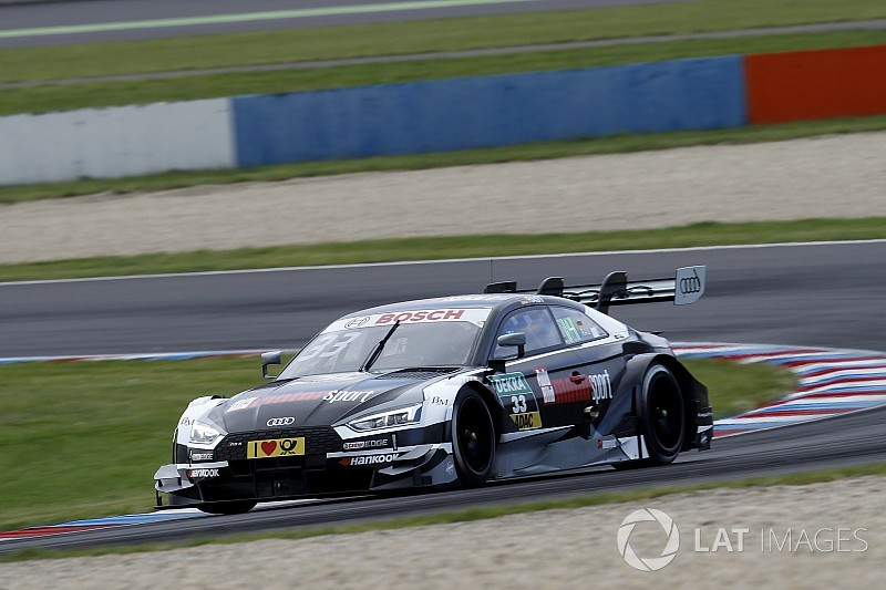 Rene Rast  pole en la carrera del sábado del DTM