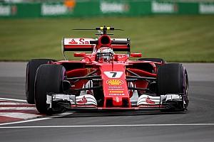 Formel 1 Trainingsbericht Formel 1 2017 in Montreal: Ferrari-Bestzeit durch Räikkönen am Freitag