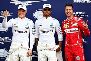 Australian GP: Hamilton takes first pole of F1 2017