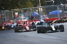 Vettel penalised after swerving into Hamilton under safety car