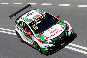 WTCC Breaking news Monteiro wants to stay with Honda WTCC squad in 2018