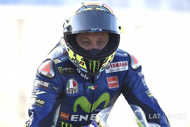Rossi faz treino secreto em Misano