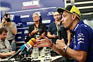 Rossi: Saya beruntung tidak cedera patah tulang