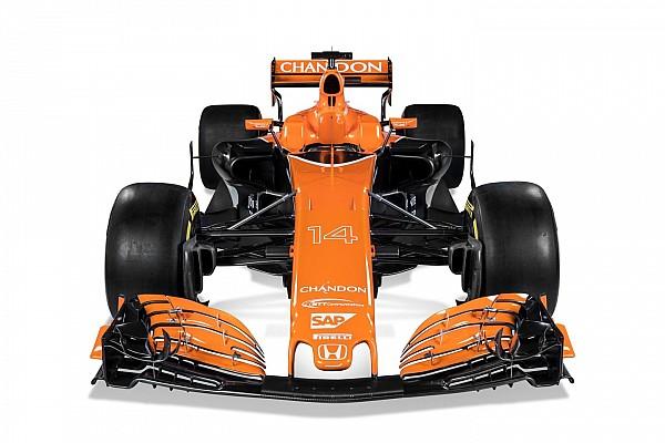 Formule 1 Diaporama Photos - La McLaren MCL32 sous toutes ses coutures