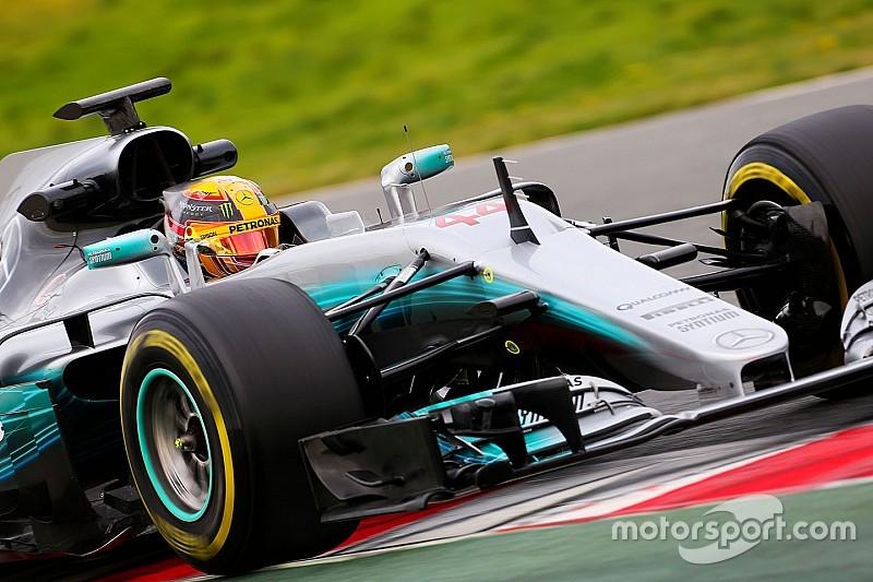 F1-Test Barcelona: Mercedes dreht erstmals in der Formel 1 2017 auf