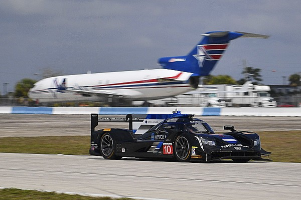 IMSA Breaking news Lynn positive after first test in a Cadillac DPi-V.R