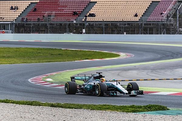 F1 测试报告 首轮季前测试第二日上午:汉密尔顿再刷最快圈,本田再换动力单元