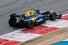 FIA F2 F2 in Bahrain: Oliver Rowland im 1. Training an der Spitze