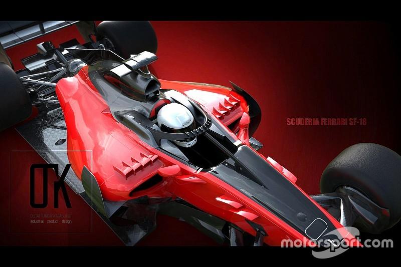 Концепт: Ferrari 2018 року з альтернативним Halo